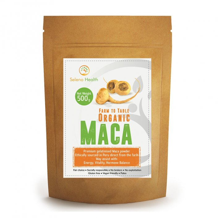 Activated yellow maca