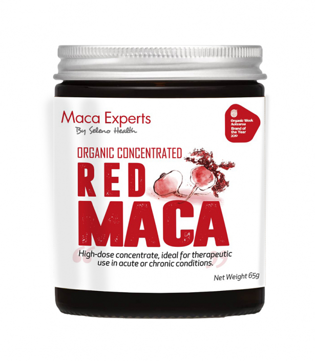 concentrated red maca extract