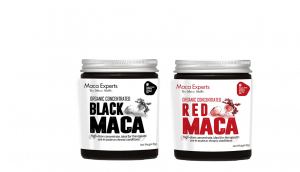 red and black maca